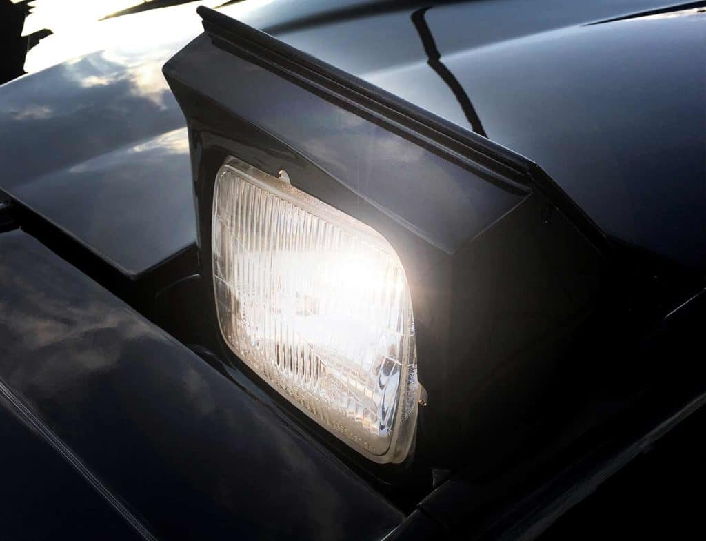 "Klappscheinwerfer Pontiac Firebird Trans Am von KITT Replika ""Knight of Germany"""