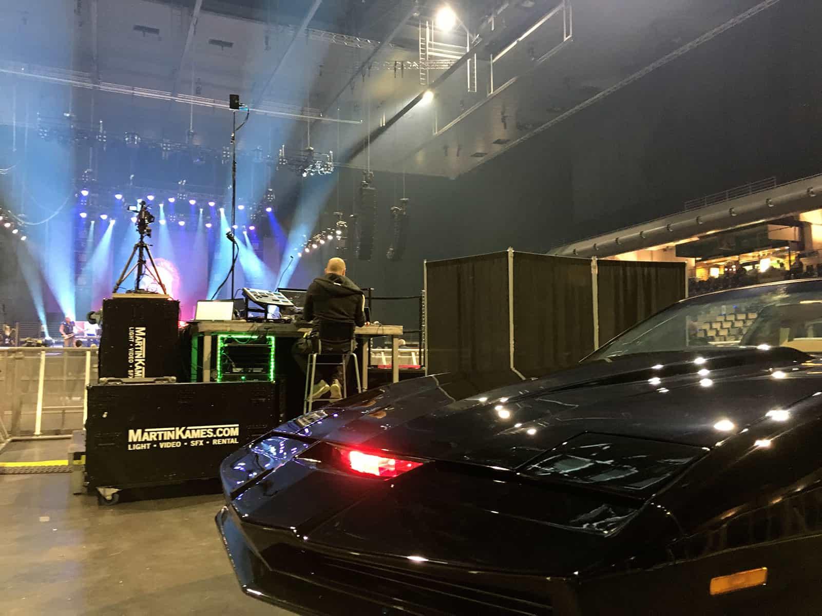 KITT Replika auf David Hasselhoff Konzert Knight of Germany