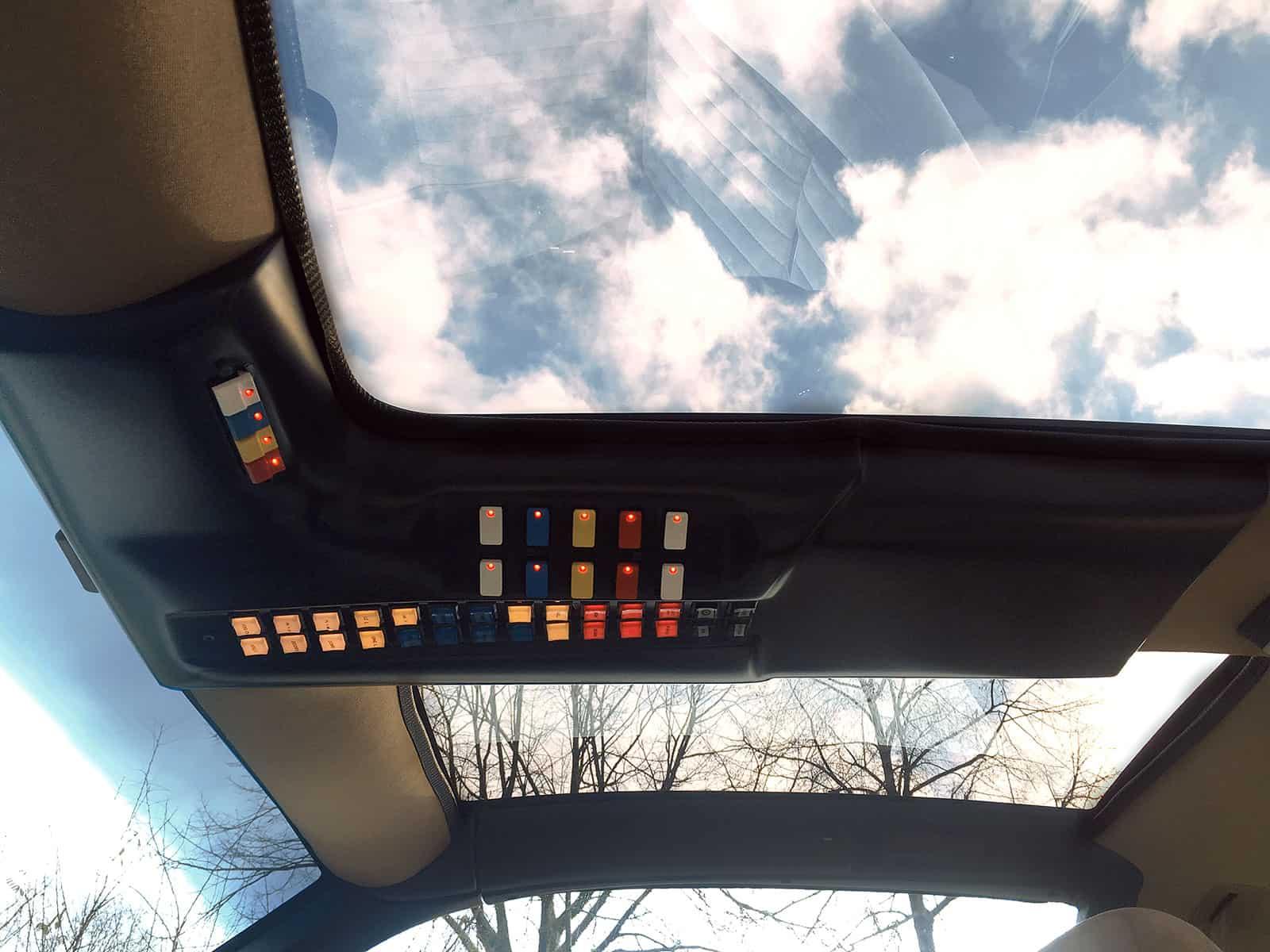 KITT Replika Overhead Console OHC Knight Rider of Germany