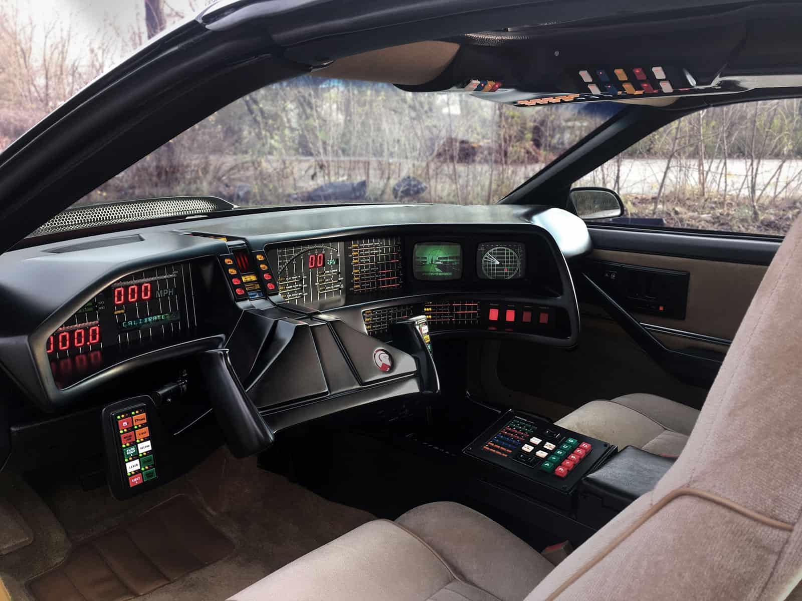 KITT Replika Dashboard Knight Rider of Germany