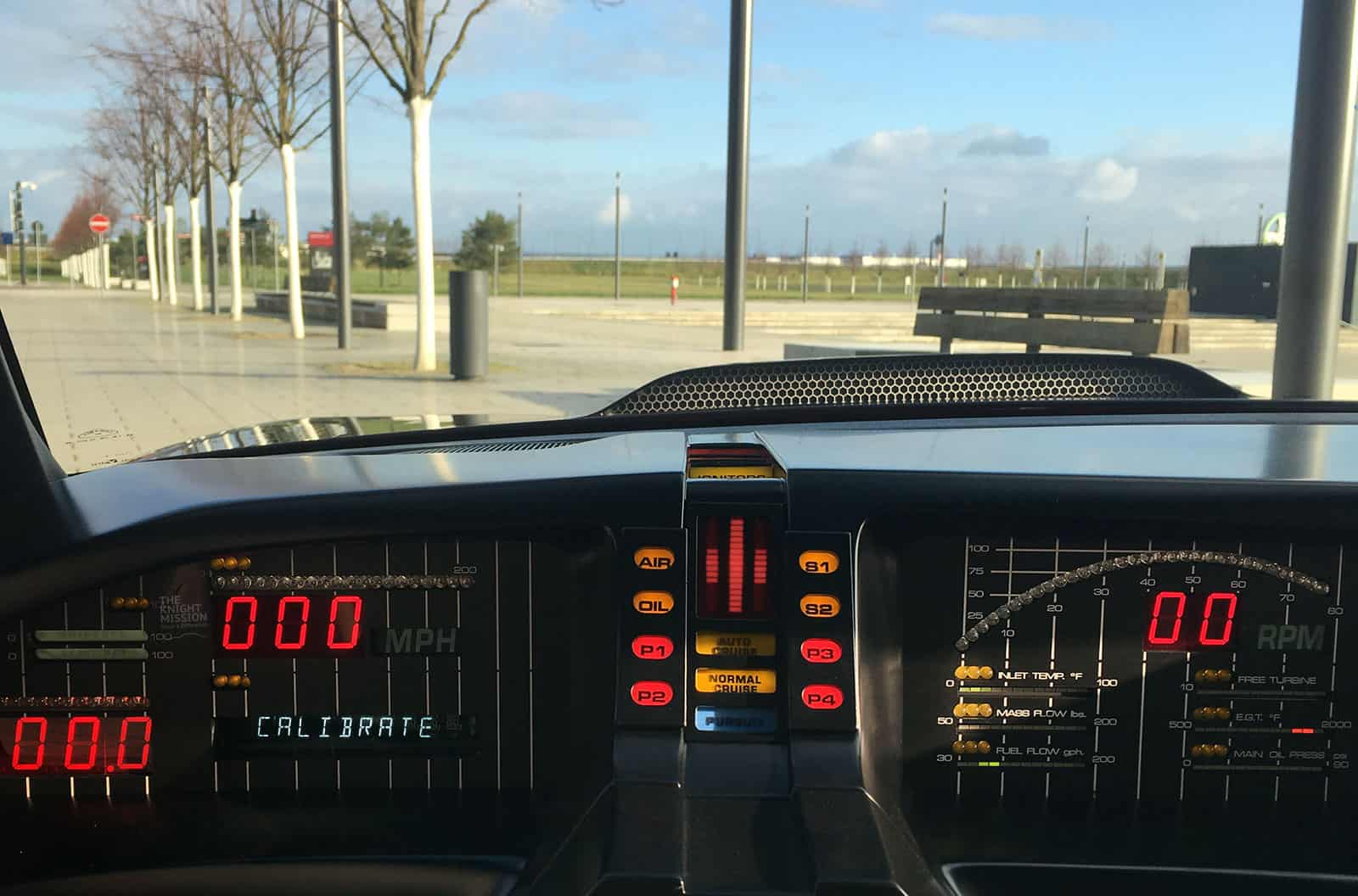 KITT Replika Dashboard Voice Box Knight Rider