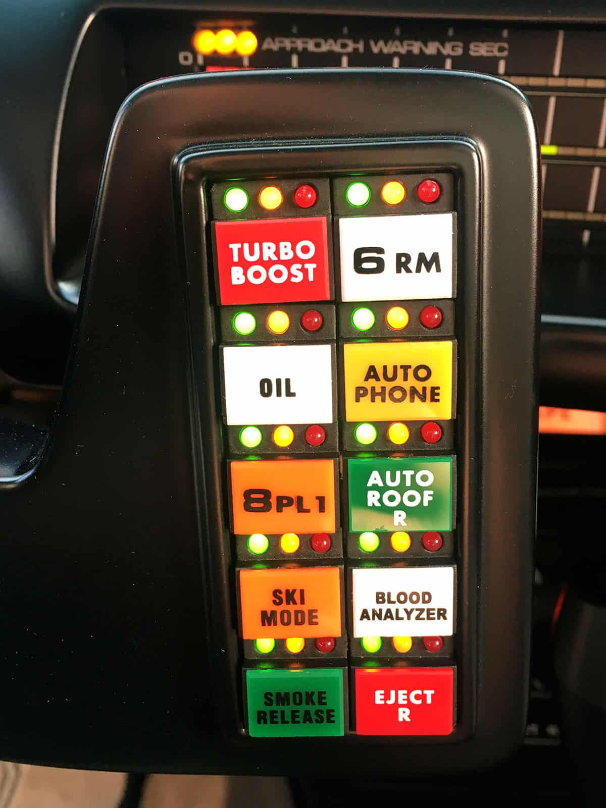 KITT Replika Switchpod Turbo Boost Knight of Germany