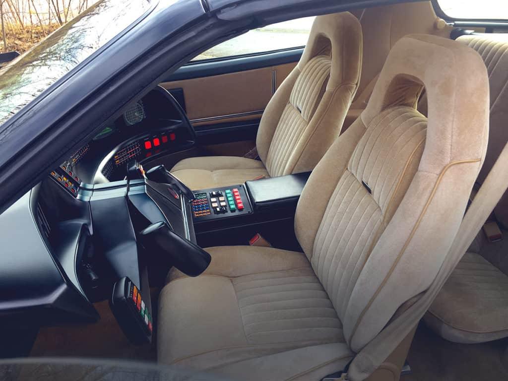 PMD Sitze Tan in KITT Replika von Knight of Germany