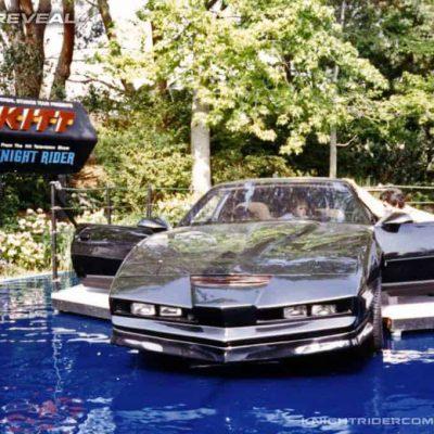 Ehemaliger KITT auf dem Gelände des Universal Theme Parks in Los Angeles