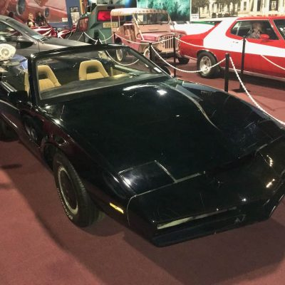 Screen used KITT Fahrzeug in einem Automuseum in Miami
